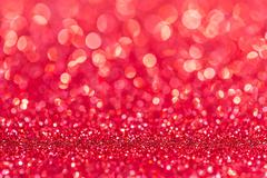 Festive Christmas background. Abstract twinkled bright background with bokeh  - stock photo