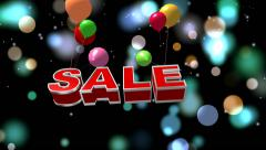 Christmas sale. Huge discounts and Christmas Stock Footage