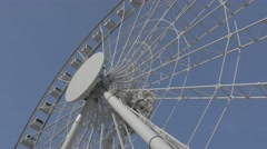 The Hong Kong Observation Wheel. Flat picture profile. - stock footage