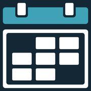Month Syllabus Icon - stock illustration
