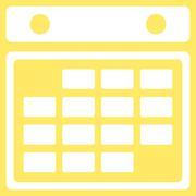 Stock Illustration of Month Organizer Icon