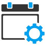 Organizer Setup Icon Stock Illustration