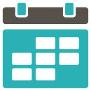 Organizer Flat Icon - stock illustration