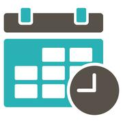 Stock Illustration of Date And Time Icon