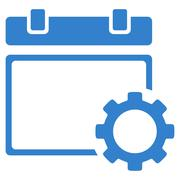 Stock Illustration of Appointment Settings Icon