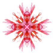 Modern Star Ornament - stock illustration
