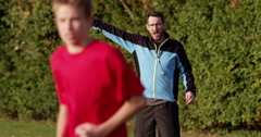 Soccer coach has an emotional outburst during a match. Shot on RED Epic. - stock footage