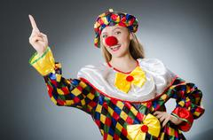 Clown in the funny concept Kuvituskuvat