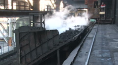 Steaming coal to trolley rides Stock Footage
