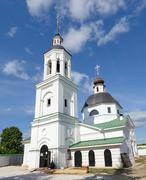 Archangel Michael temple in village of Lazarevo near Murom, Russia - stock photo