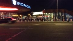 Barclays Center Time-lapse Night Arkistovideo