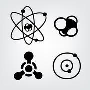 physical symbols - stock illustration