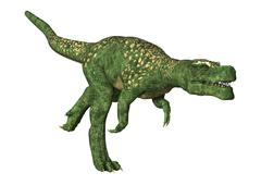 Dinosaur Tyrannosaurus - stock illustration