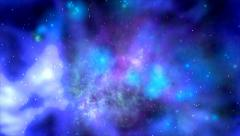 A cloud of gas and space dusts in the Universe Stock Footage
