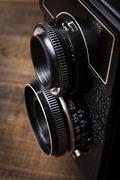 Dual Lens - stock photo