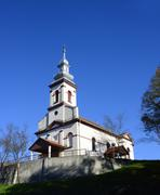 Varfurile church Stock Photos