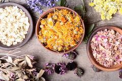 Nature medicine - stock photo