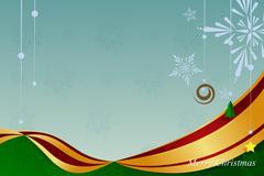 Christmas Ornament Background Stock Illustration