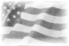 American flag pencil drawing Piirros