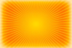 Red sunburst background or texture - stock illustration