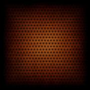 Copper circle pattern texture or background - stock illustration