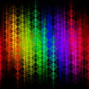 Abstract multicolor mosaic background - stock illustration