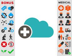 Stock Illustration of Create Cloud Icon