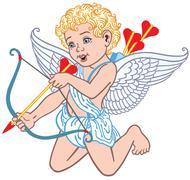 Stock Illustration of angel cupid