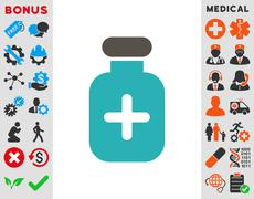 Stock Illustration of Medication Vial Icon