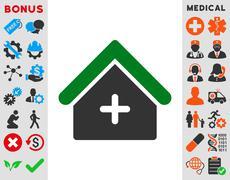 Clinic Icon Stock Illustration