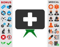 Health Care Presentation Icon Piirros