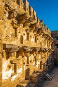 Amphitheatre in Aspendos Stock Photos