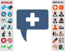 Stock Illustration of Medical Answer Icon