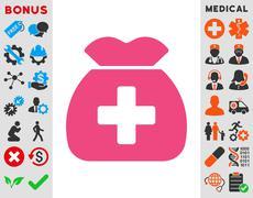 Stock Illustration of Medical Capital Icon