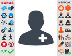 Medical Volunteer Icon Piirros