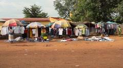 market city africa - stock footage