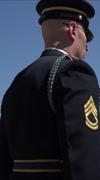 Arlington National Cemetery Change of Guard 1 vertical HD Stock Footage