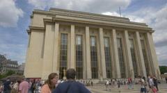 National Navy Museum in Paris Stock Footage