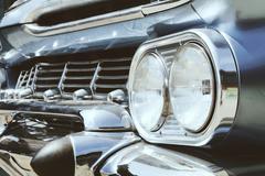 Luxury vintage car side Kuvituskuvat