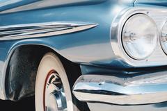 Image of Luxury vintage car side Kuvituskuvat