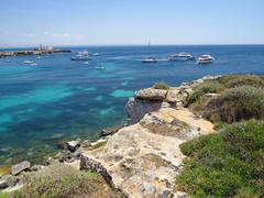 Favignana beach - stock photo