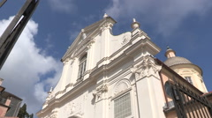 Auditorium San Francesco in Chiavari Stock Footage