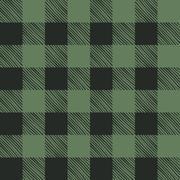 Seamless texture of green plaid Stock Illustration