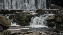 Stock Video Footage of Water Cascades