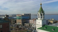 Stock Video Footage of Russia. Novgorod - 2015: 4K V Business center MURAVEY