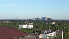 Stock Video Footage of Chernobyl Nuclear Power Plant