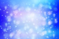 Beautiful dreamy background with bokeh lights - stock illustration
