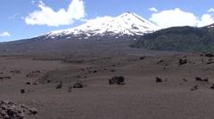 Andean vulcanic landscape 2 Stock Footage