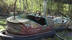 Pripyat Karts Stock Footage