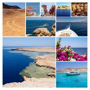 Memories from Egypt holiday - stock photo